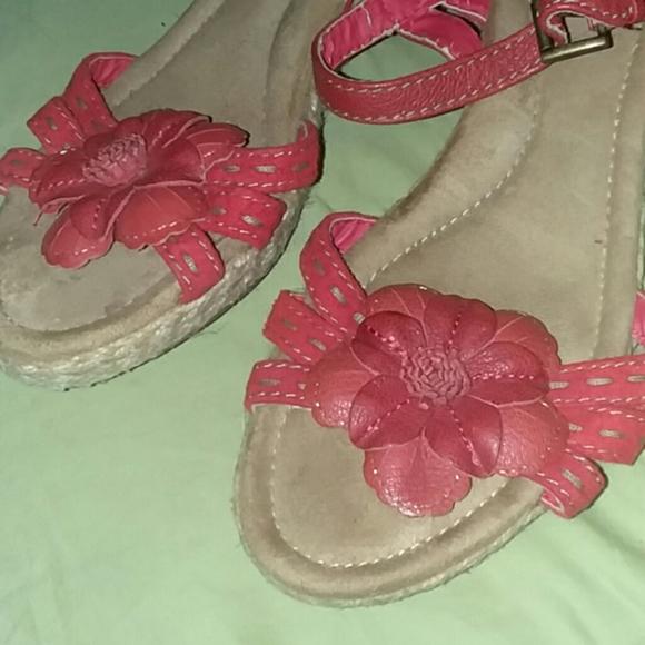 cianbernini Shoes - Reddish orange short wedges